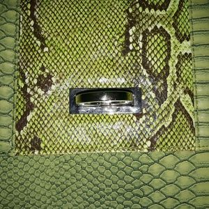 Charming Charlie Bags - Charming Charlie Snakeskin print clutch wristlet